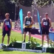 TRAVIS BAYLER - GOLD in Senior Boys 400m!