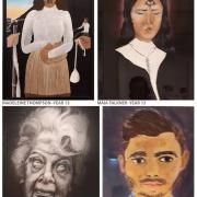 Madeleine Thompson, Maia Falkner, Grace Swanston & Freyja Wrigglesworth's Art work.