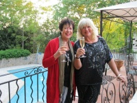 Amanda Tylor Ace (right) and Judy Winter