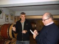 Bob Campbell  & Frederic Coulon of Domaine De Beaurenard