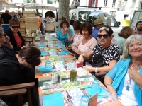 Lunch at Terroirs, Uzes Square