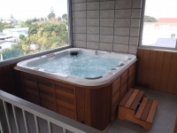 Spa in Apartment 1 and 3