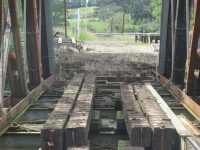 Waihi end abutment ready for Bridge It NZ to pour concrete.