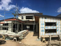 Weatherboard cladding