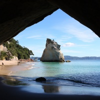 Coromandel Peninsula - Cathedral Cove