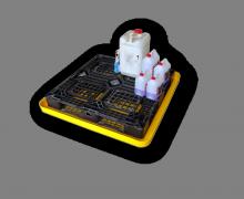 Drip tray & spill drain pan