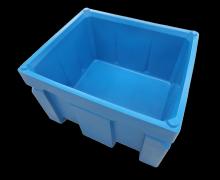 Plast-ax 600L Twin wall Box Pallet Bin - 1200 x 1000 size