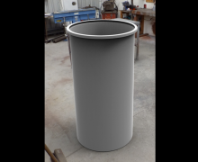 600 mm industrial plastic can