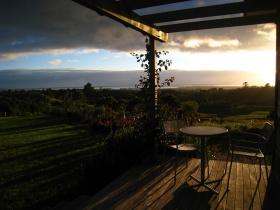 Mamaku Room deck at dawn