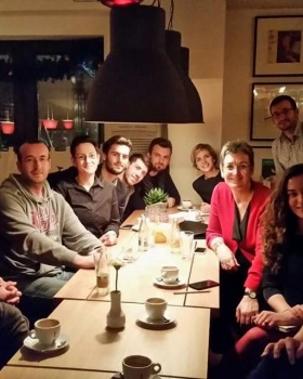 LGBT Activists in Kosovo meet with Ms. Ulrike Lunacek