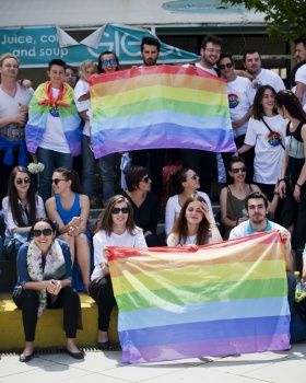International Day Against Homophobia and Transphobia in Kosovo © Jetmir Idrizi