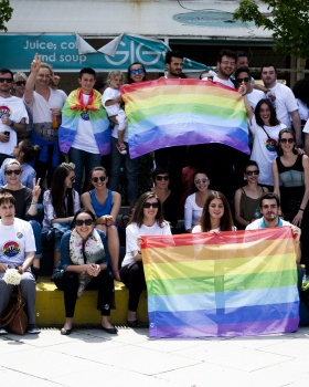 International Day Against Homophobia and Transphobia in Kosovo