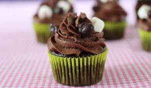 vegan rocky road cupcakes
