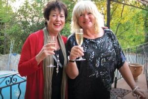 Amanda Taylor-Ace (right) and Judy Winter