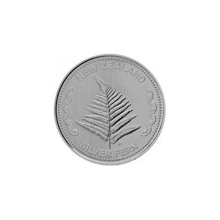 1 oz Silver Fern