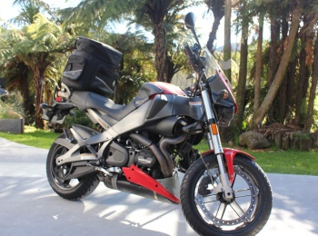 Harley Davidson Motorcycle Rental - XB12XT Buell Ulysses
