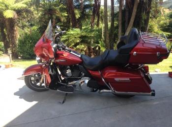 Harley Davidson Motorcycle Rental - Ultra Classic Electraglide