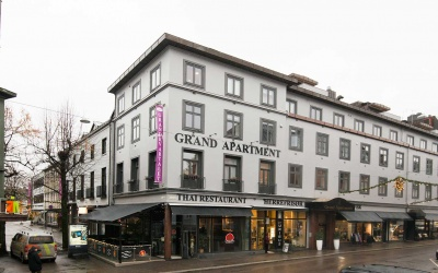 Grand Apartment fra utsiden