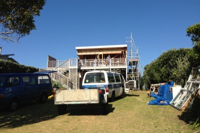 Beach House Builders - Whiritoa Alteration