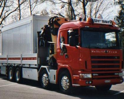 Lastwagen Walkers Team