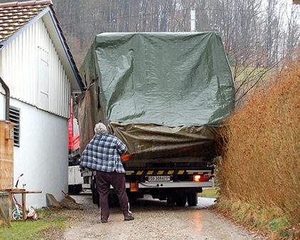 Lastwagen transporter