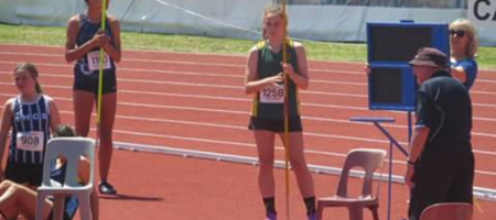 Sophie Andrews smashed her P.B. in Javelin finishing 9th!