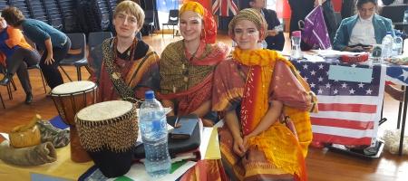 Representing Nigeria Ben Power, Nanea Schurhammer & Ali Gammeter