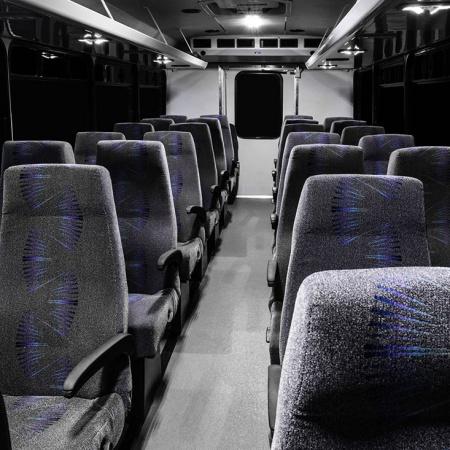 32 Passenger Interior