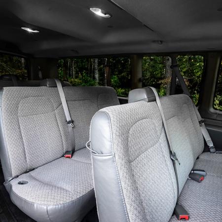 15 Passenger Interior