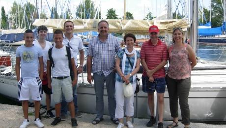 Im Hafen Immenstaad Bodensee