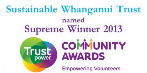 SWT Supreme Award Winner 2013