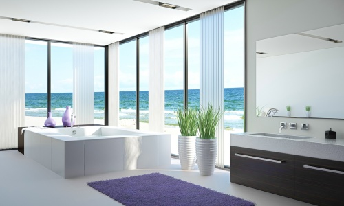 moderne baderom. Black Bedroom Furniture Sets. Home Design Ideas