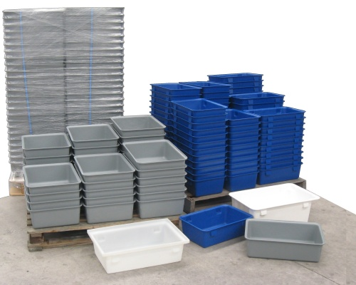 Plast-ax Strong Food Processing Trays