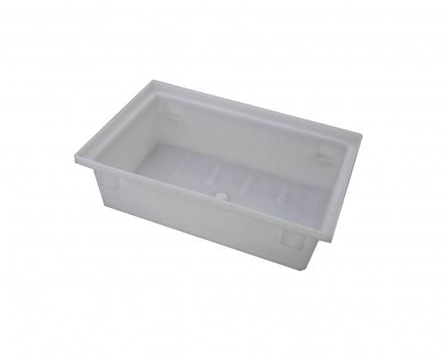 26L Plastic Fish Bin and Processing Tote