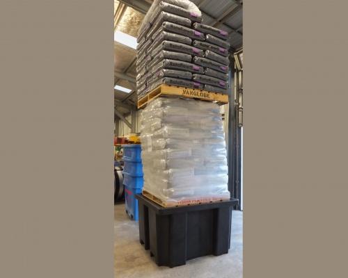 Heavy duty Plastic IBC Bund