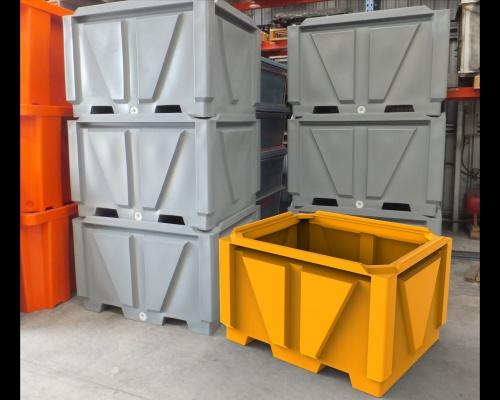 pallet bin - 1250L plastic - Plast-ax