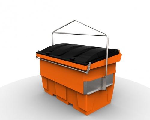 hiab Hook bin - 2m3-plastic  - Plast-ax