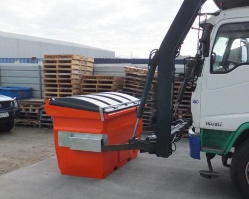 Plastic Front Load Bin 2m3
