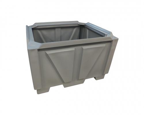Industrial 1250L Box pallet Bin - Plast-ax