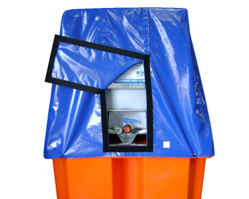 IBC Bund Cover - Plast-ax spill pallets