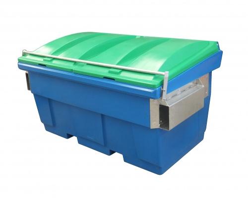 Heavy Plastic 1.5 cube front load bin - Plast-ax