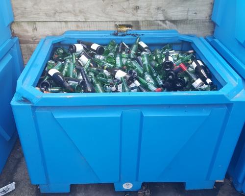 1250L Heavy Duty Box Pallet Bin - Commercial Recycling