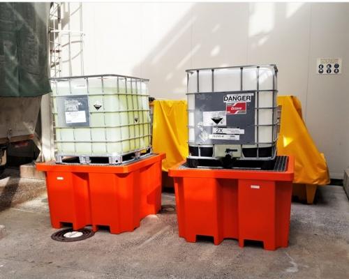Plast-ax 1100L IBC Bund - HSNO Secondary Containment
