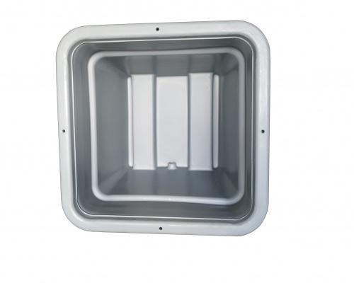 Plast-ax Industrial Processing Bin - inside view