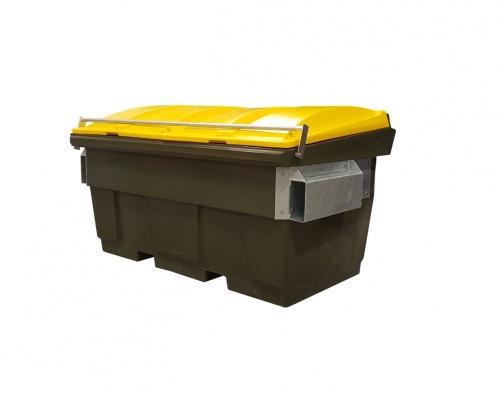 1.5 cube fel front load waste skip bin