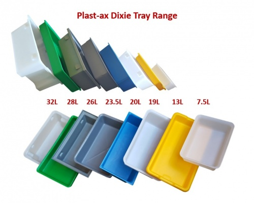 tubs, trays, totes, drip pans, meat dixies & fish bins