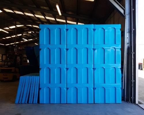 Plast-ax 600L Box Pallet Bins & Lids