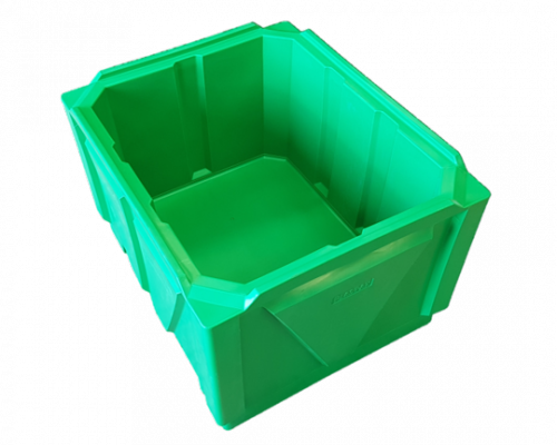 plastic offal fish and poultry stack bin
