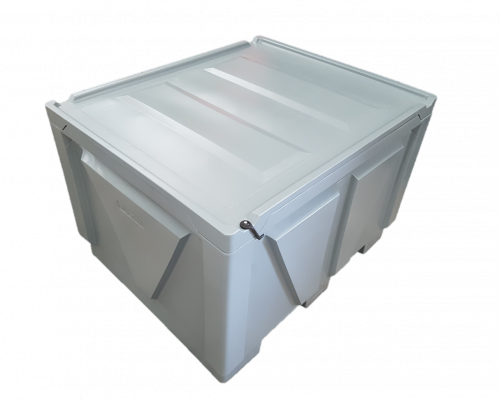 900L Fish Ice Bin with Seal Lid