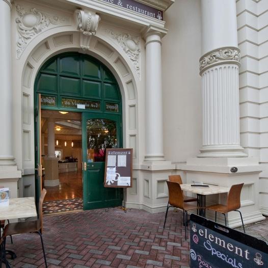 Element Cafe Entry Design